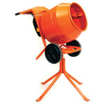 Belle 150 Minimix Compact Tip Up Cement Mixer - Various Voltages Available