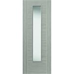 JB Kind Tigris Lava Laminate Grey 5P 1L Internal Glazed Door