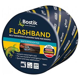 Evo-Stik Flashband Self Adhesive Tape Grey 10 Meter