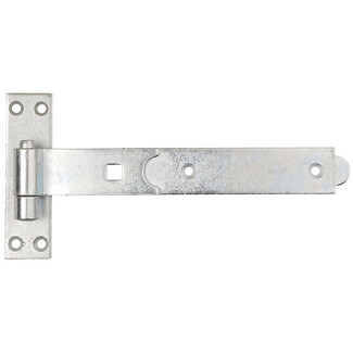 Dale Straight Band And Hook Bright Zinc Plated