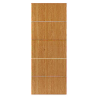 JB Kind Tate Pre-Finished Oak 5P Internal Door