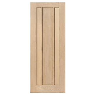 JB Kind Eden Un-Finished Oak 3P Internal Door