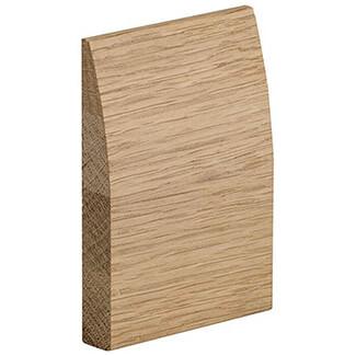 XL Joinery Skirting Set Modern Profile Per Pack Internal Oak