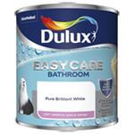 Dulux Easycare Bathroom Soft Sheen Pure Brilliant White Paint