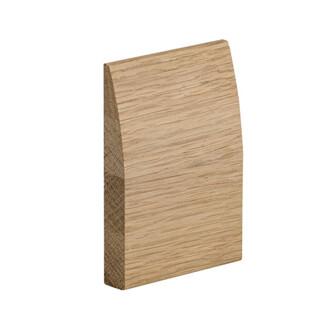 XL Joinery Modern Oak Skirting Set Pre-Finished Modern Profile
