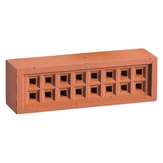 WTK Airbrick Square Holes Red