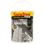 Sandtex Trade High Cover Smooth Paint - Various Colours And Litres Available