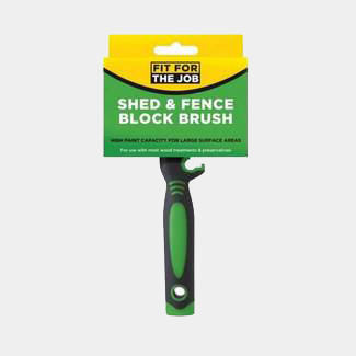 Rodo Fit For The Job Shed And Fence Block Brush