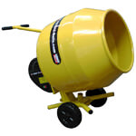 Belle Minimix 130 Compact Light Professional Tip Up Cement Mixer