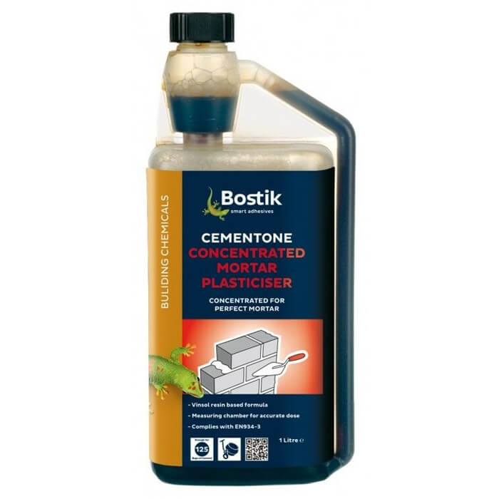 Bostik Cementone Concentrated Mortar Plasticiser 1L