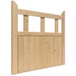 JB Kind External Softwood Unfinished Boarded Half Gate