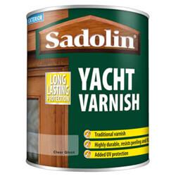 Sadolin Yacht Varnish Clear Gloss