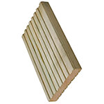 Buildworld Treated Decking Board - 5 Inch - 125 x 32mm x 4800mm Length