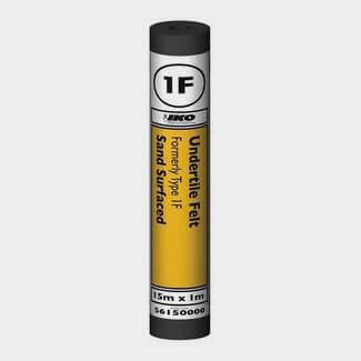 IKO 1F Undertile Felt - 1000mm Wide x 15000mm Long