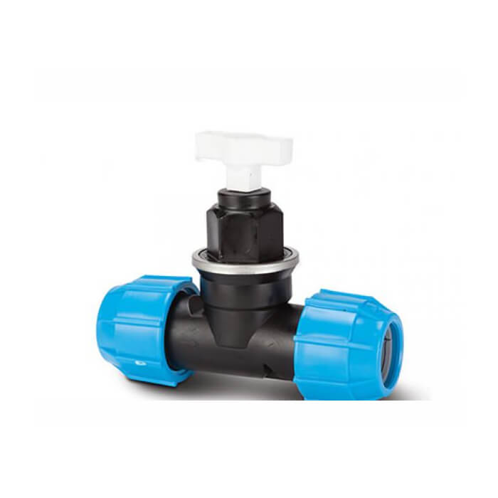 Polypipe Polyfast 20mm Plastic Stop Cock