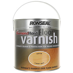 Ronseal Diamond Hard Floor Varnish 2.5L