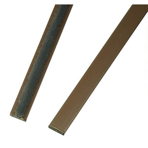 Dale Hardware Intumescent Fire Seal Brown - Variations Available
