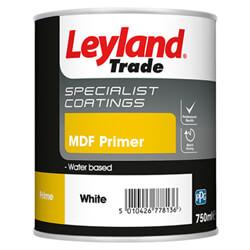 Leyland Trade MDF Primer White