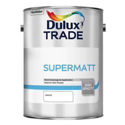 Dulux Trade Supermatt Standard Paints 5 Litres