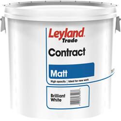 Leyland Trade Contract Matt Emulsion Paint 10 Litre