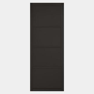 LPD Soho Black Primed 4P Internal Door