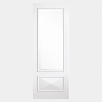 LPD Knightsbridge White Primed 1P 1L Internal Glazed Door