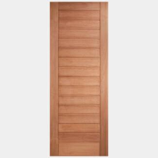 LPD Hayes Unfinished Hardwood 14P External Door