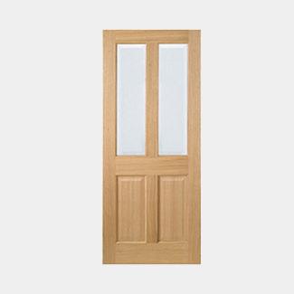 LPD Richmond Pre-Finished Oak 2P 2L Internal Glazed Door