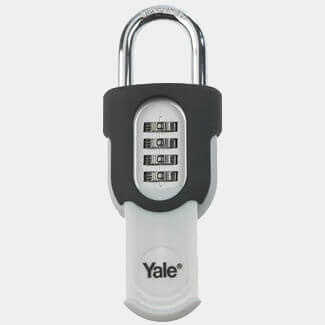 Yale Combination Padlock With Slide Cover