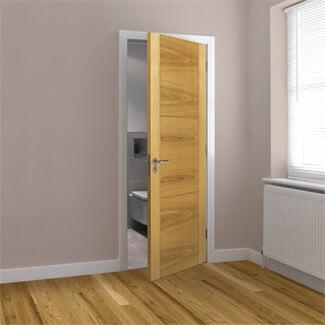 JB Kind Mistral Pre-Finished Oak 3P Internal Door