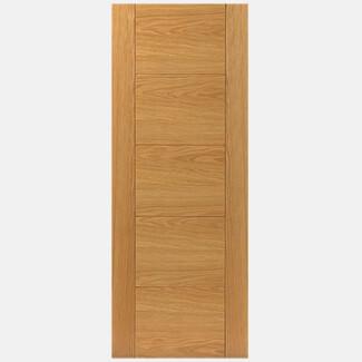 JB Kind Tigris Pre-Finished Oak 5P Internal Door