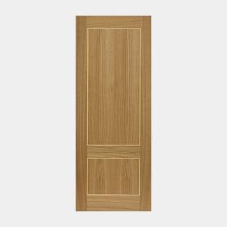 JB Kind Lucina Pre-Finished Oak 2P Internal Door