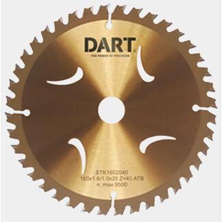 Dart Gold Coating ATB Wood Saw Blade