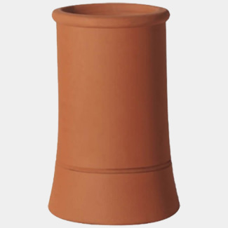 Wtk Roll Top Chimney Pot Red
