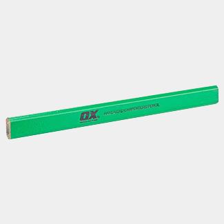 Ox Tools Trade Hard Green Carpenters Pencils