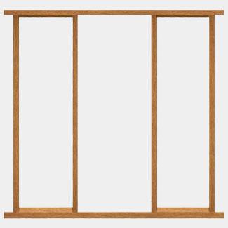 XL Joinery Un-Finished Hardwood Side Light External Door Frame Kit