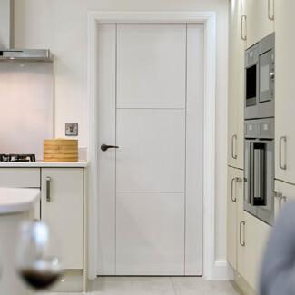 JB Kind Mistral White Primed 3P Internal Door