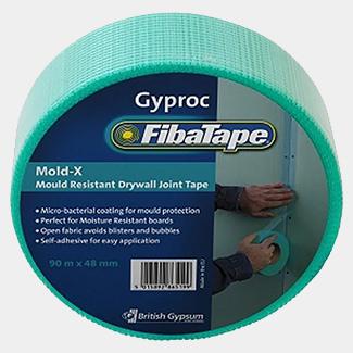 Gyproc Fiba Tape Mold-X Green 90m x 48mm