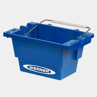 Werner Lock-In Job Bucket For Fibreglass Stepladder