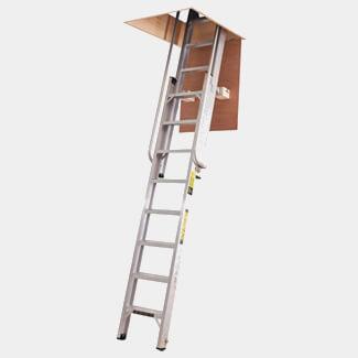 Youngman Deluxe Aluminium Loft Ladder