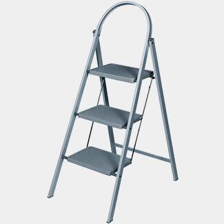 Werner Grey Handy Step Stool
