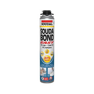 Soudal Soudabond Easy Gun Adhesive Orange Foam