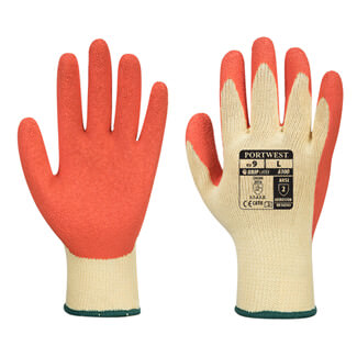 Additional image of Portwest A100 Grip Glove Latex