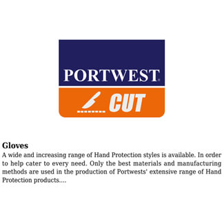 Alternate image of Portwest A620 LR Cut PU Palm Glove
