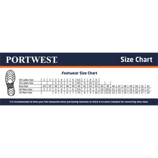 Portwest FC21 Black Compositelite Safety Boot S1