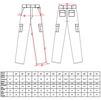 Technical drawing BW-40863 / C701BKR26