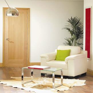 XL Joinery Pattern 10 Un-Finished Oak 1P Internal Door