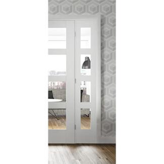 XL Joinery Shaker White Primed 4P Internal Door
