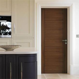 JB Kind Tigris Pre-Finished Walnut 5P Internal Door