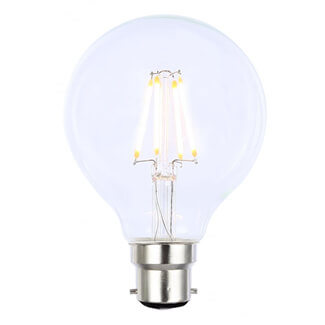 Inlight Vintage G80 4W LED Dimmable Filament Lamp